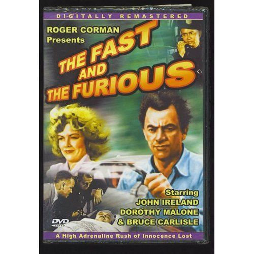 The Fast And The Furious Slim Case (DVD, 2004-B&W-Digview Produ