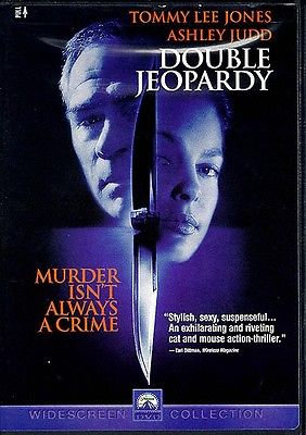 USED-Double Jeopardy-Widescreen Collection. DVD (1999)   Ashley Judd/Tom