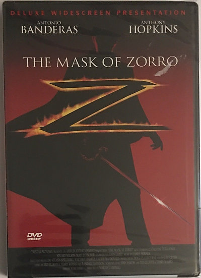 USED-The Mask of Zorro (DVD, 1998 Deluxe Widescreen Edition)