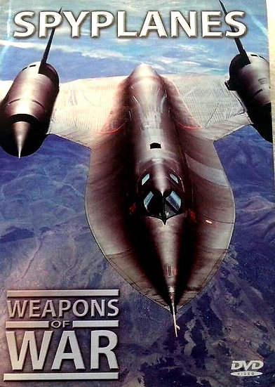 USED-Weapons of War Series Spyplanes DVD + 24 Page Booklet #25