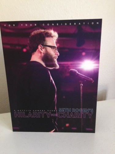 FYC 2018 Seth Rogen's Hilarity For Charity- For Your  Considertion-Dvd-Netflix