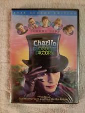 NEW Charlie and the Chocolate Factory (2005, Full-Screen Edition) Johnny Dep