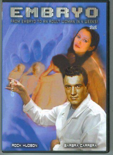 EMBRYO DVD Rock Hudson Barbara Carrera Diane Ladd Roddy McDowall