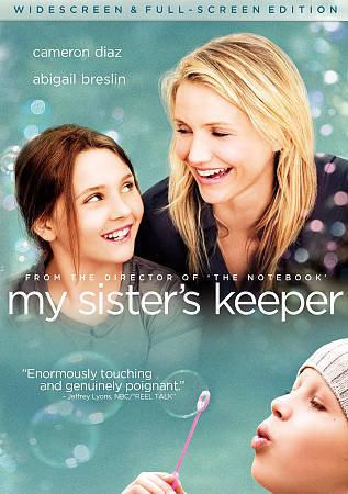 NEW Sister's Keeper (DVD, 2009, Widescreen & Full Screen) Cameron Dia