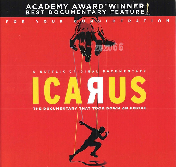 2 FYC 2018 ICARUS and Somebody Feed Phil Netflix DVD