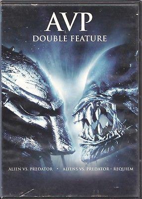 AVP Double Feature -Alien vs. Predator / Aliens vs. Predator: Requiem (D