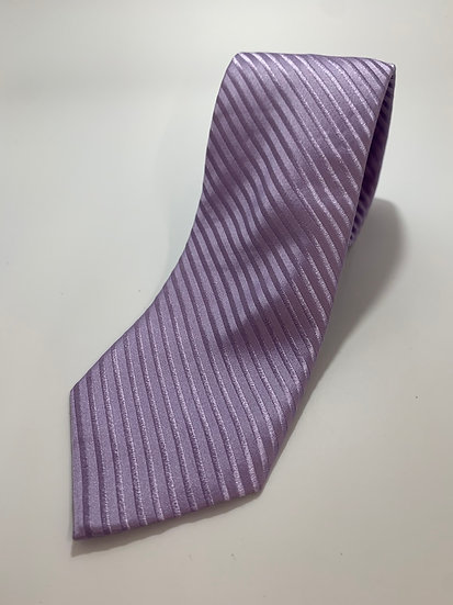 Pierre Cardin Purple 100% Silk Hand made Tie 59""