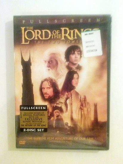 The Lord of the Rings The Two Towers  (DVD 2 disc set Fullscreen)