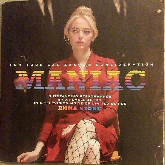 FYC 2019 Maniac Movie SAG Awards DVD Emma Stone Netflix