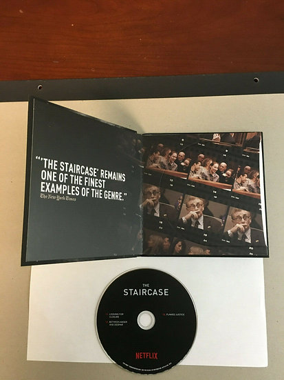 FYC 2019 FYC 2019 THE STAIRCASE ~ DID HE DO IT? DVD (1) Pressbook EMMY Netflix D