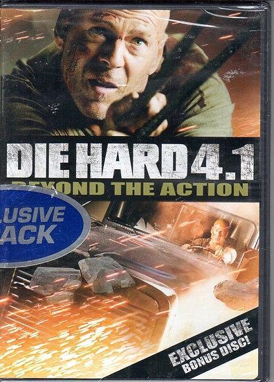 Die Hard 4.1 Beyond The Action Exclusive Bonus Disc (2007,DVD) Bruce Willis