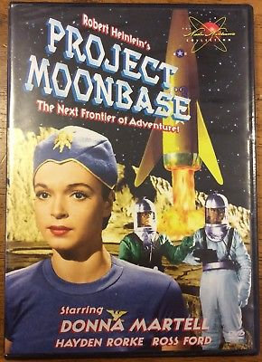 USED: Project Moonbase (DVD 1997) Donna Martell, Hayden Rorke, R