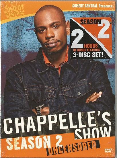 Chappelle's Show: Season 2  Uncensored (DVD 2004-3 disc set Region 1)