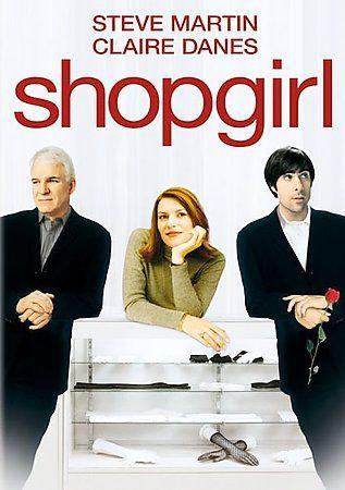 Shopgirl (DVD, 2006) Claire Danes, Steve Martin, Jason Schwartzman