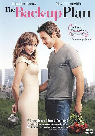 The Back-up Plan (DVD, 2010) JLo Jennifer Lopez Alex O'Loughlin