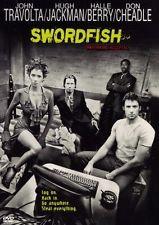 Swordfish (DVD, 2001)   John Travolta/Hugh Jackman/Halle Berry/Don Cheadle
