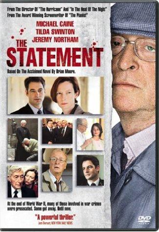 The Statement (DVD 2004) Michael Caine Tilda Swinton