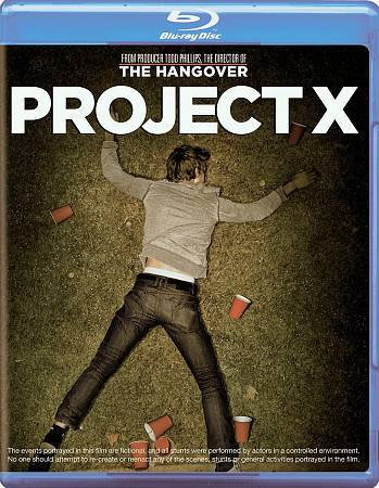 USED-Project X  Blu-The Hangover (Blue Ray)