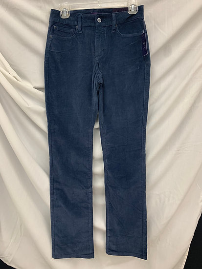 NWT NXD YJ Los Angeles size 0 Blue Straight Jeans