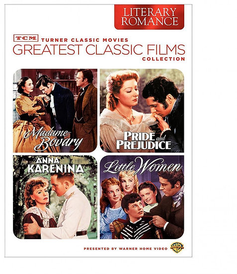 TCM Greatest Classic Films Collection: Literary Romance  Madame Bovary/Pride and