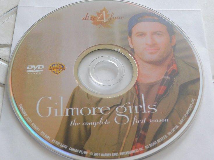 USED- Gilmore Girls First Season Dvd Replacement disc 4 ONLY