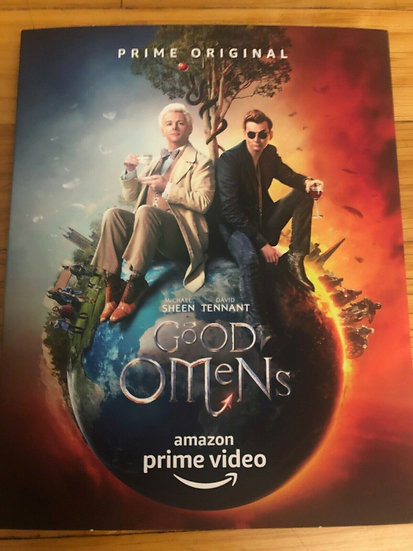 FYC 2019 GOOD OMENS Complete Season 1 DVD Amazon Prime Emmy For Your Con