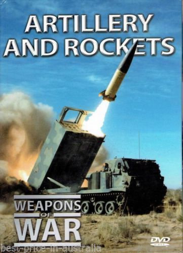USED-Weapons of War Artillery & Rockets DVD & Booklet # 9