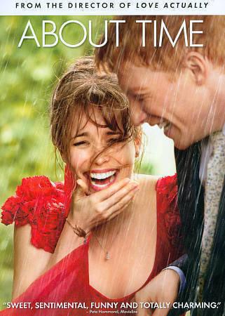 About Time (DVD 2014 WS) Domhnall Gleeson, Rachel McAdams, Bill Nighy