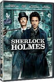NEW Sherlock Holmes DVD Robert Downey Jr, Jude Law