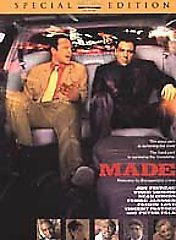 Made  Special Edition (DVD 2001) Jon Favreau, Vince Vaughn, Peter Fal
