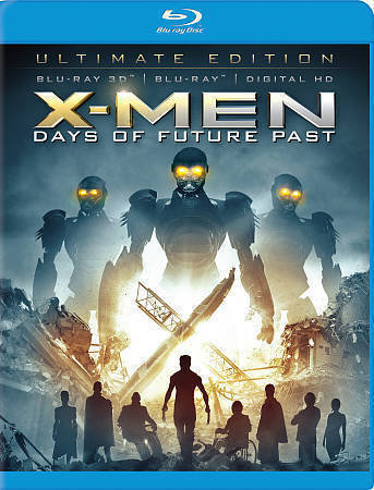 USED-X-men Days of Future Pas tUltimate Edition (Blu-ray 3D + bluray + digital H