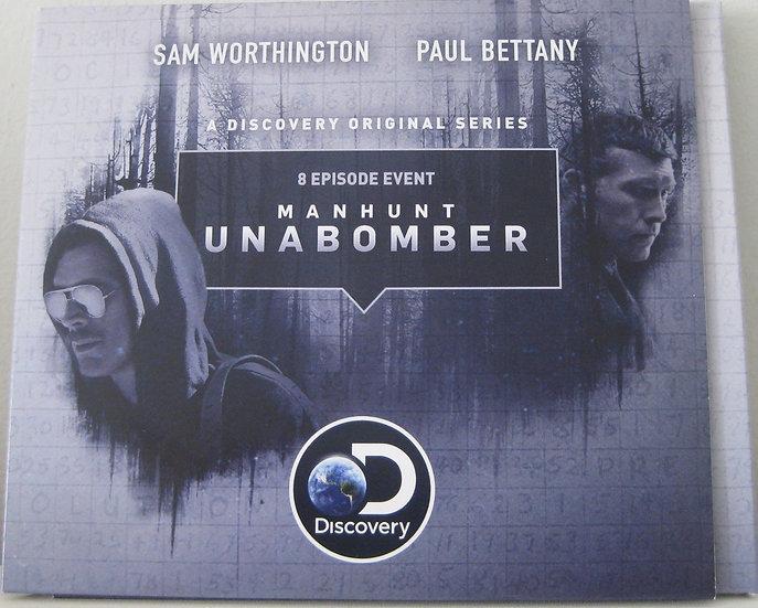 FYC 2018 Manhunt: Unabomber | FYC Emmy Awards Screener | Complete Series [DVD-2