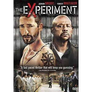 THE EXPERIMENT (DVD, 2010)  Forest Whitaker, Adrien Brody