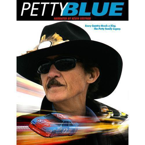 Petty Blue (DVD, 2010) Nascar - Richard Petty - Kyle Petty - Kevin Costn