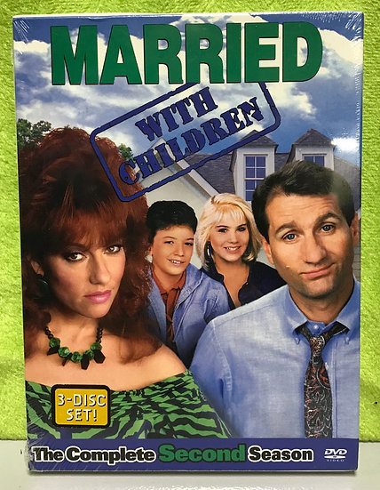 Married...With Children - The Complete Second Season (DVD, 2004, 3-Disc Set)