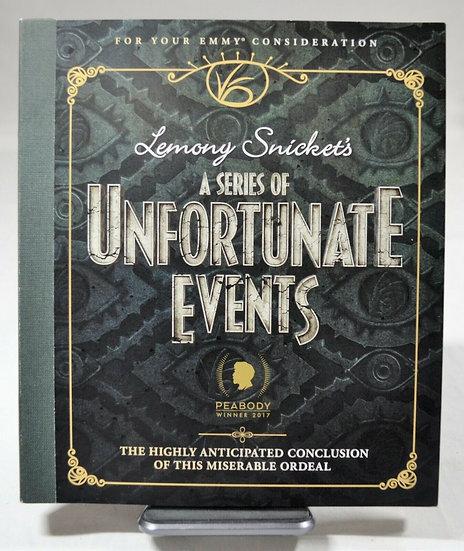 FYC 2019 A Series of Unfortunate Events - Season 3 - Netflix Fressbook Emmy DVD