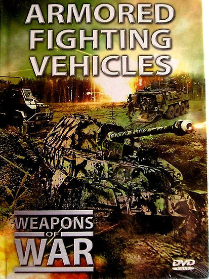 USED-Weapons of War Series Armored Fighting Vehicles DVD + 24 Page Booklet #10