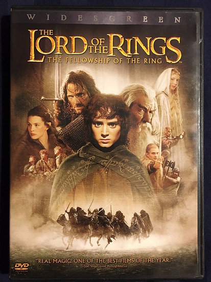 USED-The Lord of the Rings The Fellowship of the Ring (DVD, 2Disc, Widescreen