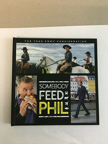 2 FYC 2019 SOMEBODY FEED PHI and Nailed It DVD  Pressbok
