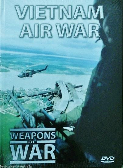 WEAPONS OF WAR: Vietnam Air War (DVD + BOOK)