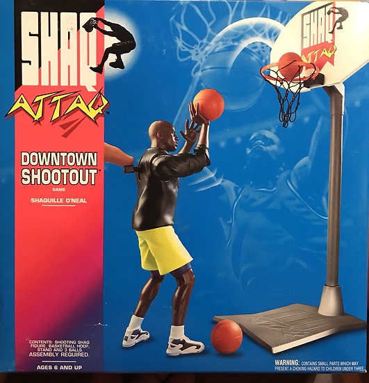 NIB Shaq Attaq Downtown Shootout 1993