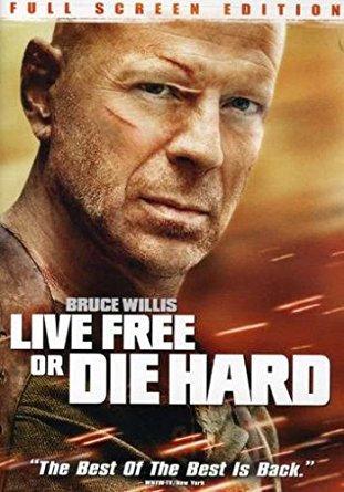 Live Free or Die Hard, (DVD)  Bruce Willis
