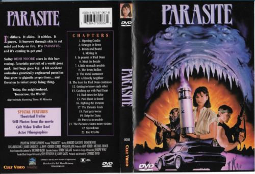 USED-Parasite (DVD 1999) Robert Glaudini/Demi Moore's first starring mov