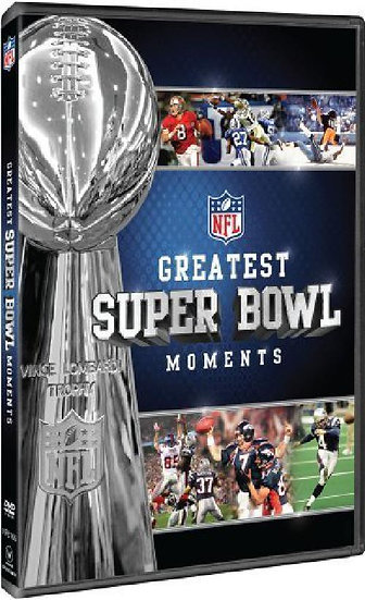 NFL Greatest Superbowl Moments (dvd)