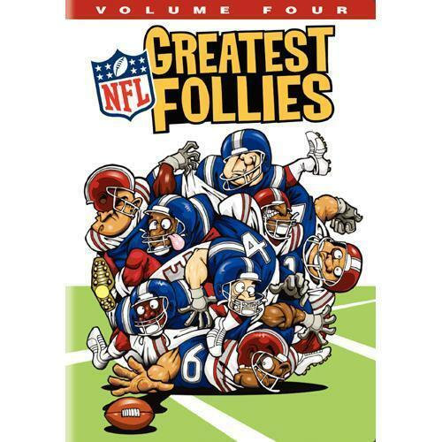 NEW NFL Greatest Follies - Volume Four (DVD, 2009) OFFICIAL NFL