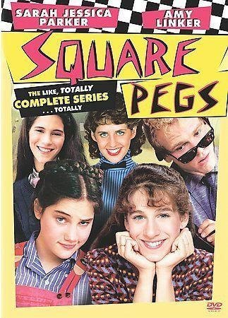 NEW Square Pegs - The Complete Series (DVD, 2008, 3-Disc Set) 80s TV