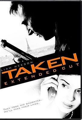 Taken- Extended Cut (DVD, 2009) Theatrical and Unrated/ Liam Neeson