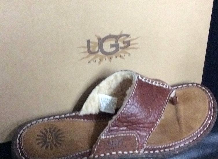 UGG Australia Layback Sandal Chestnut size 10
