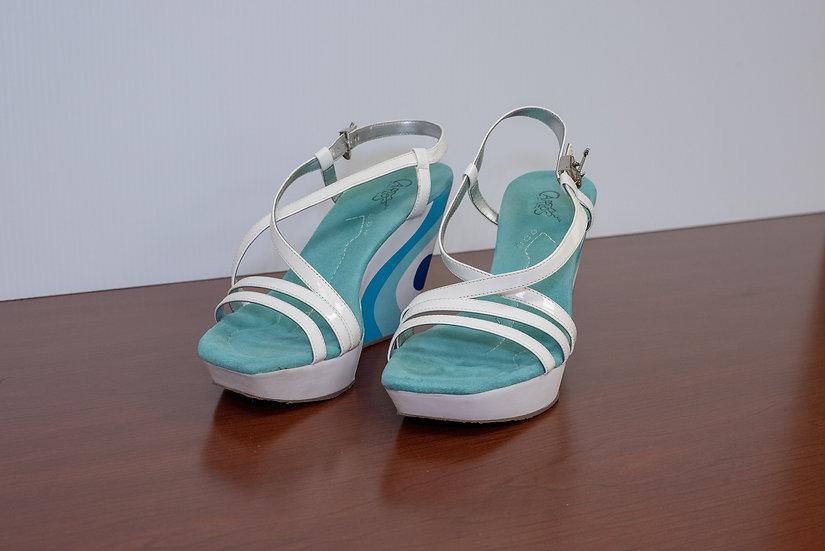 Carlos by Carlos Santana AMPLIFY Blue-Mint Green-White Amplify Sandals 1