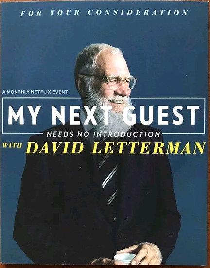 4 FYC 2018 David Letterman, Seth Meyers, Stephen Colbert, James Corden